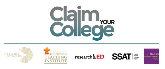College of Teachers Web Banner