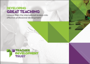 developing great teaching