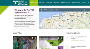 TDT Network Portal - Screenshot