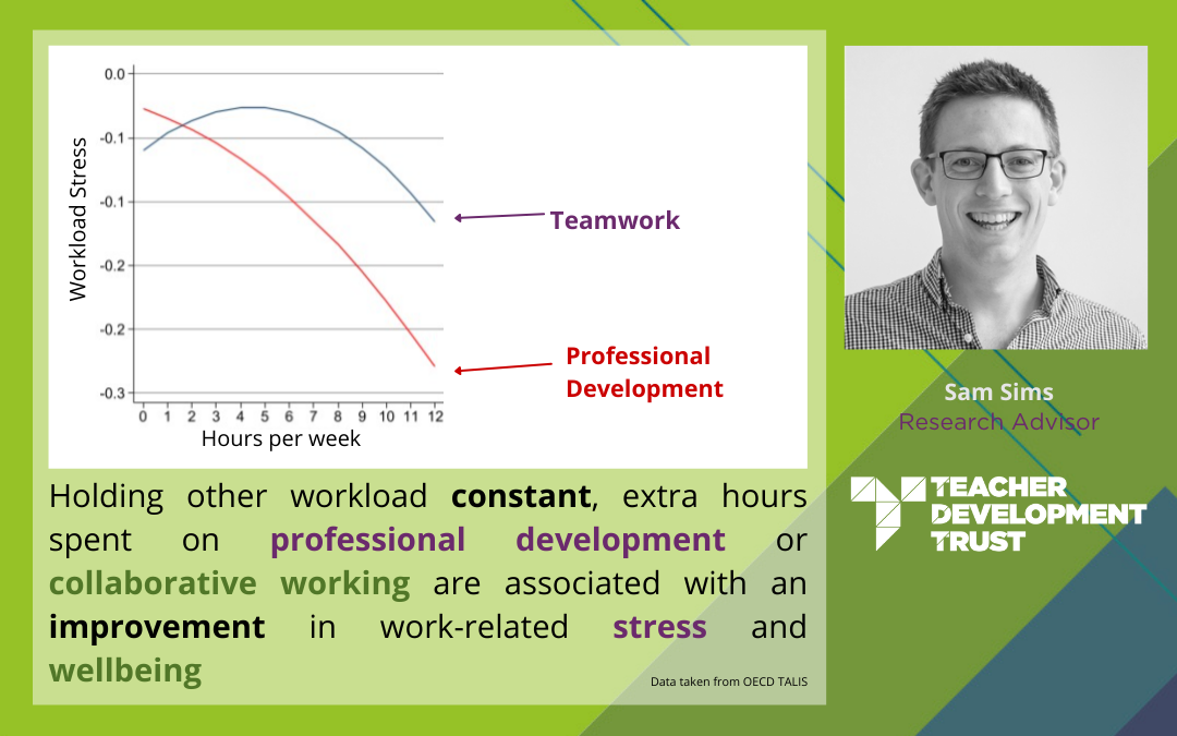 Lowering teacher stress through CPD & teamwork