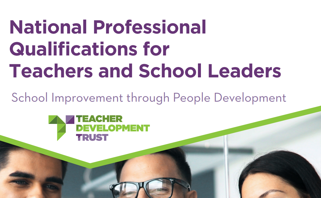 Develop > Qualify > Progress: 6 ways to learn the art, craft and science of school leadership